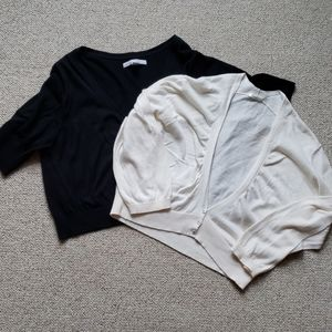Lot of 2 Old Navy Cardigan Short Sweaters Size XL